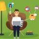 دورکاری: انواع، ابزار، روش ها، الزامات، چالش ها و راهکارها